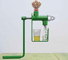 mini home oil press machine