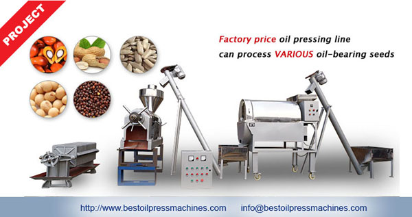 small oil pressing equipment in South Africa